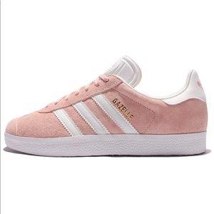 Adidas   Gazelle Pink Suede Sneakers